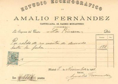 factura-de-Amalio-Fernandez-para-la-empresa-del-Teatro-de-la-Comedia (1)