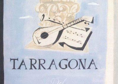 Cartel I festival de Música de Tarragona - (1954)