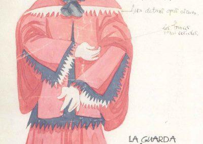 La guarda cuidadosa, de Cervantes - (1942)