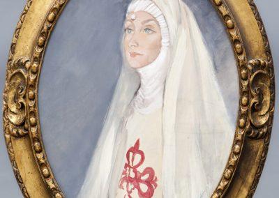 Retrato de Carmen Díaz de Mendoza como Doña Inés
