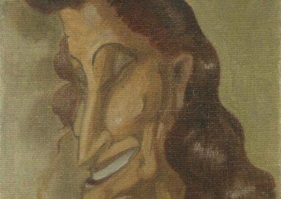 Caricatura de Amalia de Isaura