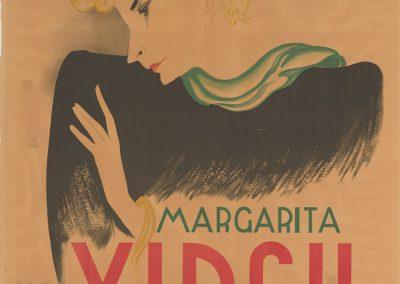 Cartel de Margarita Xirgu