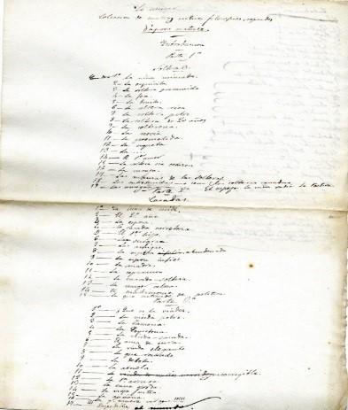 Manuscritos de Larra