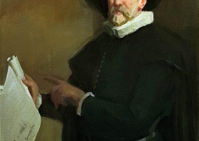 Retrato de Miguel de Cervantes