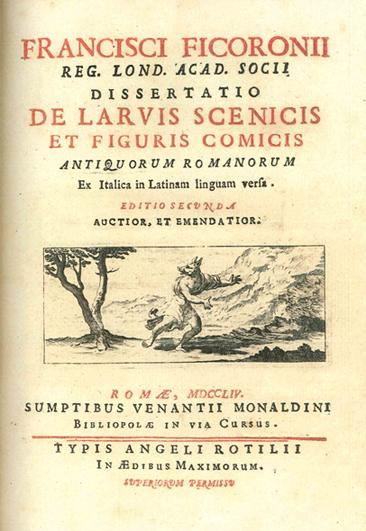 La pieza bibliográfica. Libro de las máscaras